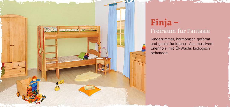 Kinderzimmer finja erlenholz im waschb r shop bestellen for Kinderzimmer shop