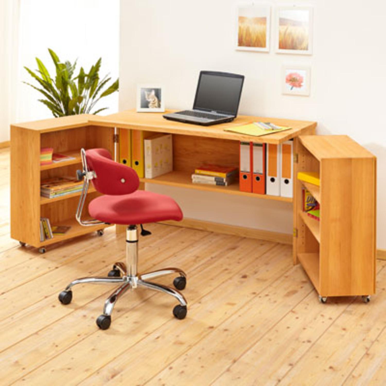Raumspar schreibtisch for Schreibtisch yoga