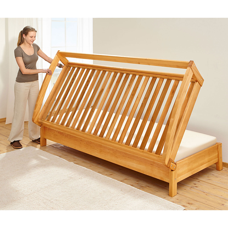 klapp g ste bett. Black Bedroom Furniture Sets. Home Design Ideas