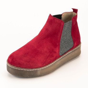 Chelsea-Boot, rot