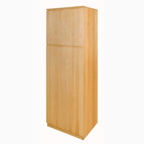 6f6ddb12f8dc91 Schrankmodul hoch aus Erlenholz für kleine Räume ...