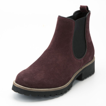 "Chelsea-Boot ""Strike"", bordeaux"