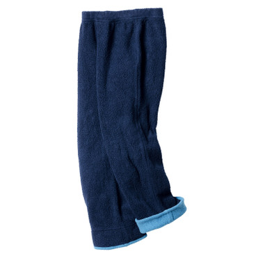 Hose aus Bio-Fleece, blau