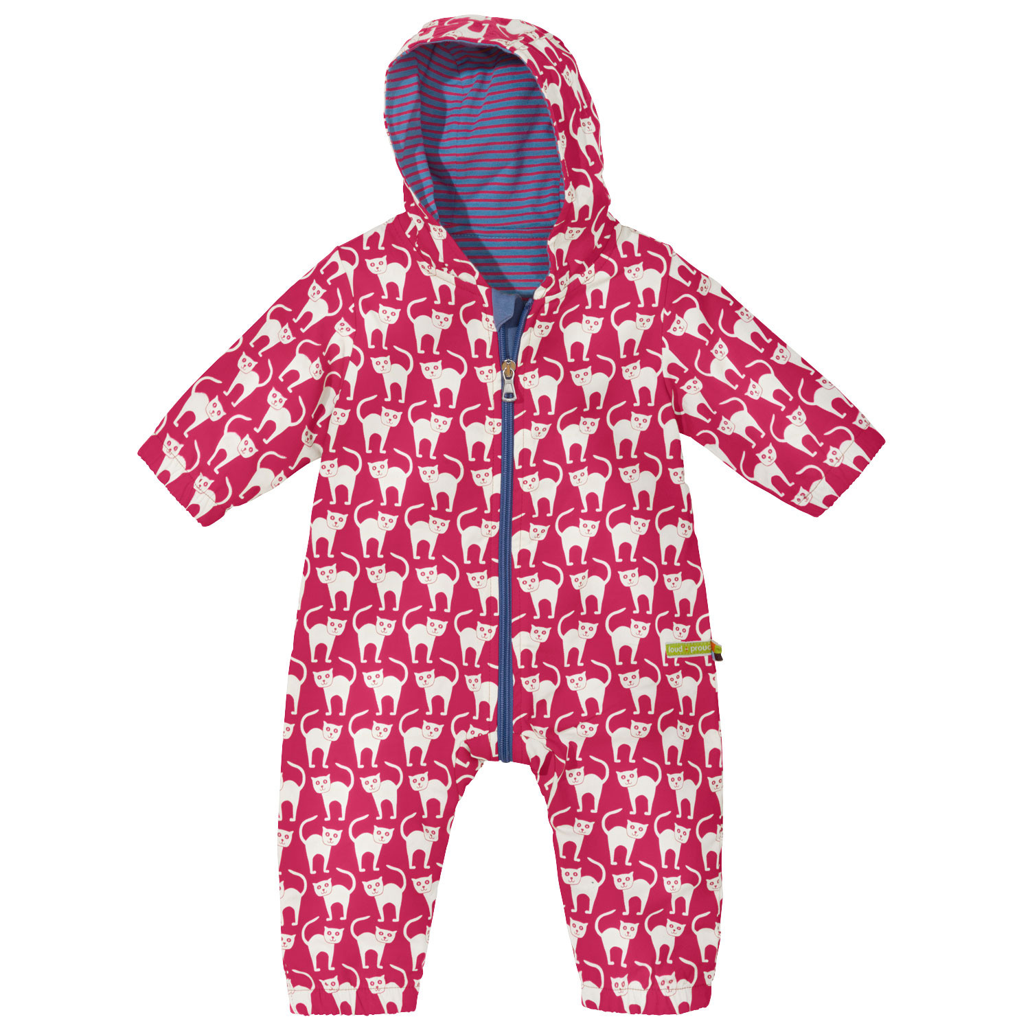 Baby-Outdooroverall Bionic-Finish Eco, rot