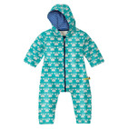 Baby-Outdooroverall, smaragd