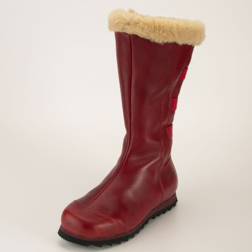 Stiefel, rot
