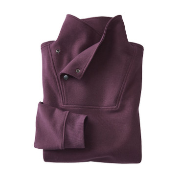 Sweatshirt, plum