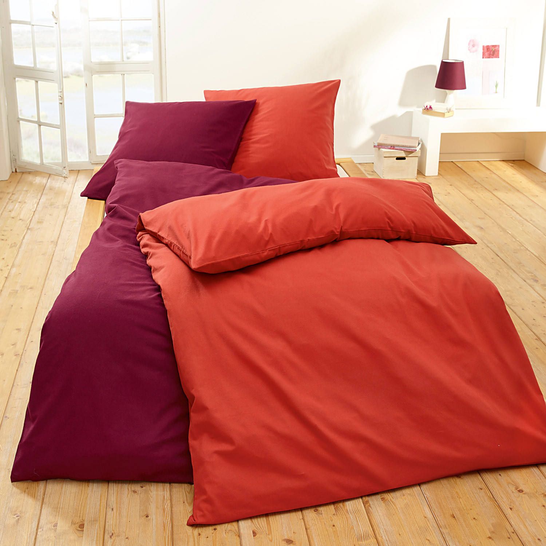 flanell-bettwäsche in unifarben, smaragd - Nachhaltige Und Umweltfreundliche Schlafzimmer Mobel Und Bettwasche