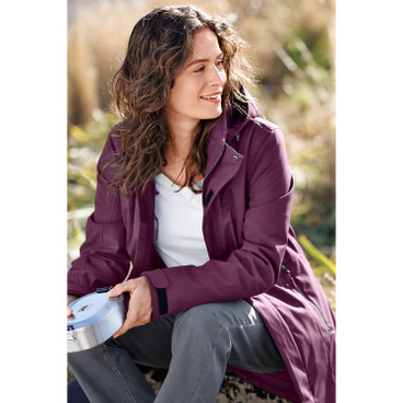Softshell-Longjacke BIGGI Damen, plum