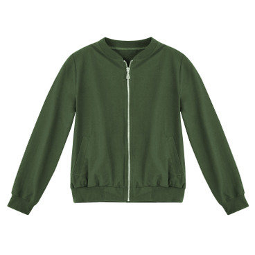 Blouson, jungle green