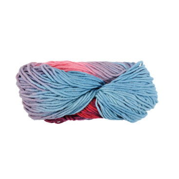 Strickwolle, multicolor rosa