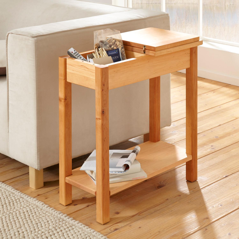 beistelltisch erle energiemakeovernop. Black Bedroom Furniture Sets. Home Design Ideas