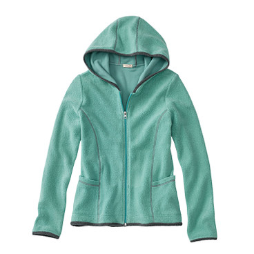 Fleece-Jacke, jade