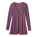 Long-Cardigan 1/1A, cassis