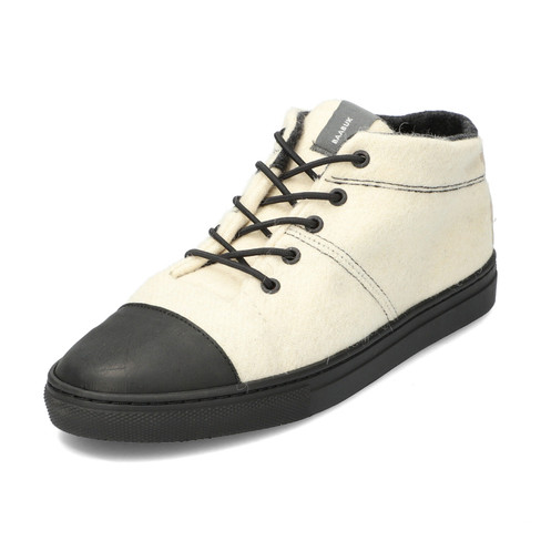 Woll-Sneaker BLACK NOSE, offwhite