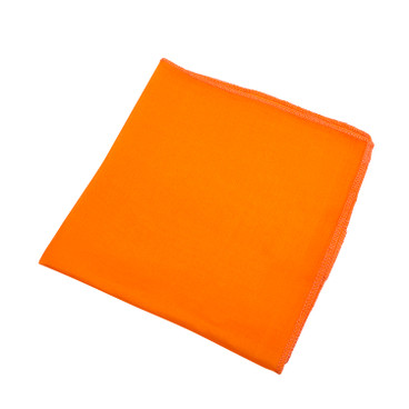 Bio-Seidentuch, orange