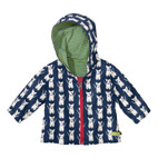 Baby-Outdoorjacke, blau
