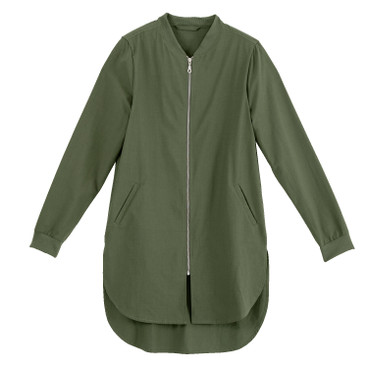 Blousonmantel, jungle green