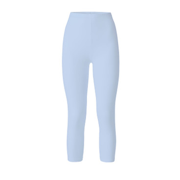 3/4-Leggings, eisblau