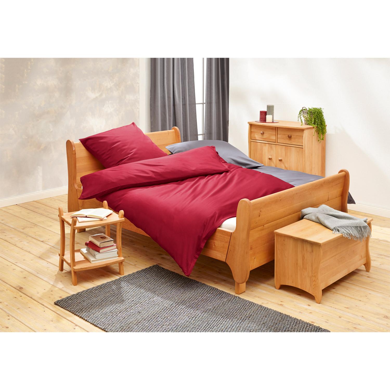 metallfreies holz bett. Black Bedroom Furniture Sets. Home Design Ideas
