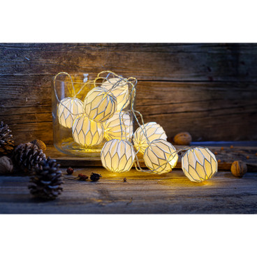 LED-Papierlichterkette