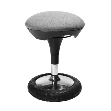 Ergonomischer Fitness-Hocker, anthrazit