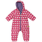 Baby-Outdooroverall, rot