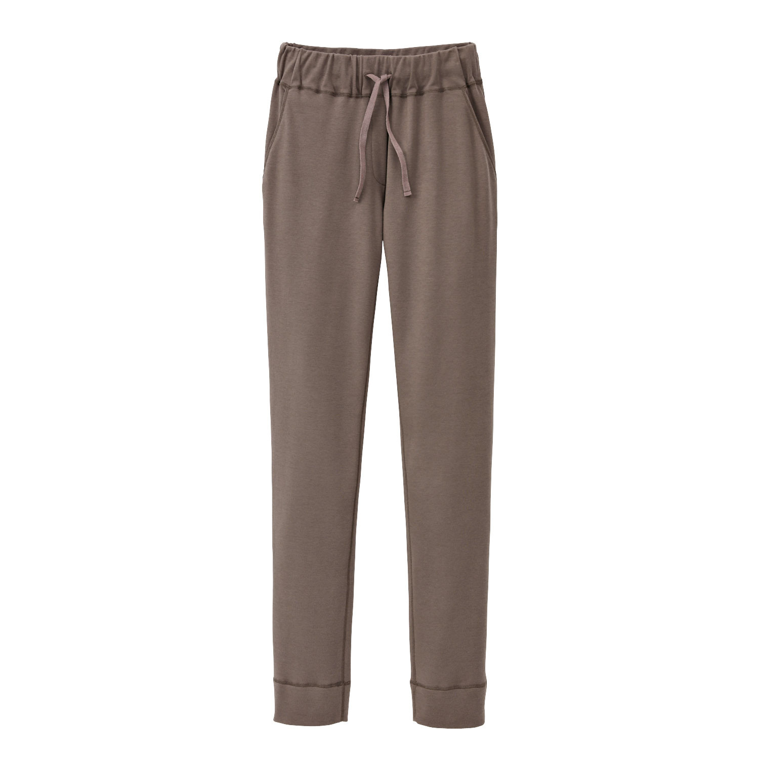 Jersey-Hose, taupe