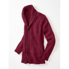 Strickjacke, vino