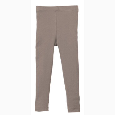 Ripp-Leggings stretchbequem, taupe