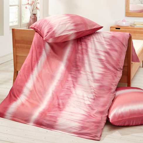 bio renforc bettw sche garnitur 2 tlg wasserblau verlauf waschb r. Black Bedroom Furniture Sets. Home Design Ideas