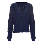 Strickjacke, indigo, 40/42