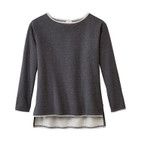 Sweatshirt 1/1,anthrazit-melan