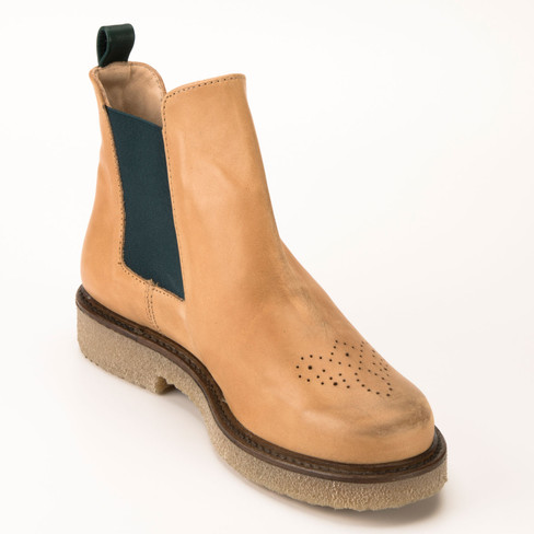 Chelsea-Boot, camel
