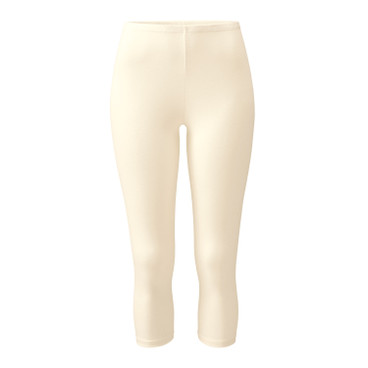 3/4-Leggings, natur